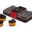 Comprar caja de bombones de chocolate negro con almendras 50% Cacao