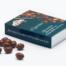 Caja de almendras bañadas con chocolate con leche