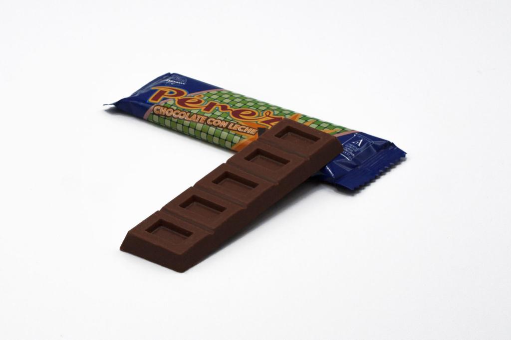 Chocolatina de chocolate con leche